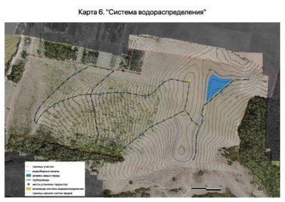 Приложение к проекту землеустройства. Система водораспределения.
